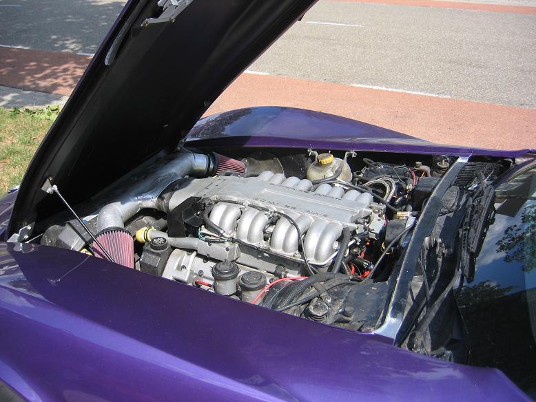 Corvette LT5 Stingray 1974 Paars